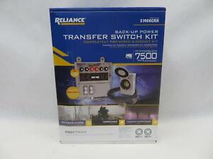 Reliance Controls 31406crk Coghlan s Manual Transfer Switch Kit