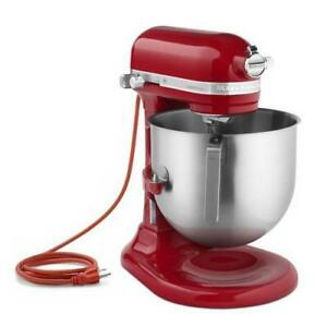 Kitchenaid Commercial 8 Qt Empire Red Commercial Stand Mixer