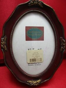 Vintage Victorian Collection Style Picture Frame Oval 6 X 4 1 2