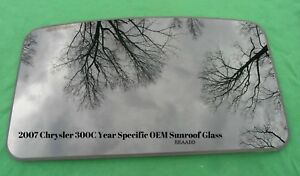 2007 Chrysler 300c Three Hundred Sunroof Glass Panel Oem Free Shipping