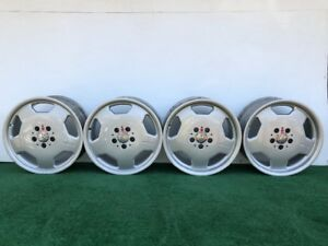 Rare Mercedes Benz Amg Monoblock 17 Genuine Factory Oem Silver Wheels Rims Set