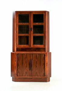 Mid Century China Cabinet By Dyrlund Of Denmark