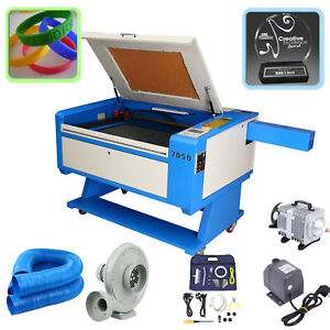 80w Co2 Laser Cutter 700x500mm Engraver Cutting Machine Crafts Usb Lift Table