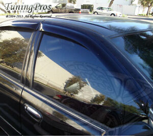 Jdm Outside Mount Window Visor Sunroof 5pc For Toyota Tundra 2004 06 Double Cab