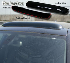 Smoke Tint Sun Roof Deflector 1080mm 42 5 For 2005 15 Toyota Tacoma Double Cab
