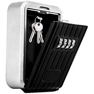 Realtor Key Lock Box With 4 digit Pin Combination And Shackle Perfect For Secure