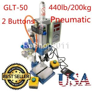 2 Buttons Pneumatic Press Machine 100 To 50 Type 200kg With Monitor Us