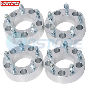 4 1 5 5x5 To 5x5 Wheel Spacers Adapters 14x1 5 For 1988 1999 Chevy C1500