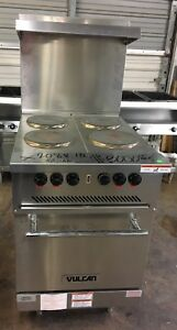 Vulcan 24 Electric Restaurant Range 4 French Plates 208 Volt
