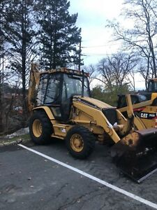 Caterpillar 416c Backhoe 4x4 4in1 Bucket