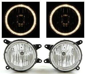 Fit 05 06 Ford Mustang Gt Fog Lights Lamps Crystal Clear Angel Halo Ring Depo