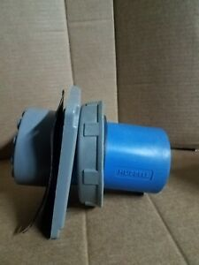 Hubbell 5100b9w 100 Amp Pin And Sleeve Inlet 120 208 Vac watertight