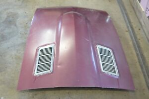 77 78 Datsun 280z Oem Steel Hood With Vents 240z 260z