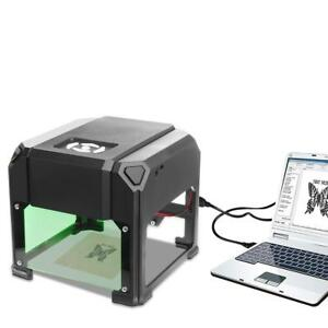 3000mw Usb Diy Laser Engraver Cutter Engraving Cutting Machine Logo Printer Cnc