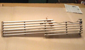 58 1958 Plymouth Belvedere Savoy Plaza Lh Grille Side Section Silver Fury Bars