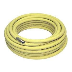 3 8 X 100ft Oil Resistant 150 300 Psi Goodyear Yellow Air Hose