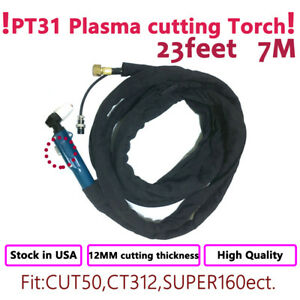 Pt 31 Plasma Cutter Cutting Torch Cut40 50 23feet 7m Cable Body Complete Sets