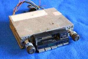 Vintage Roadstar Am Fm Cassette Tape Radio 2 Post As Is Car Auto Mobile Stereo