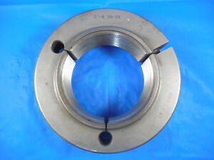 3 8 Un 2a Thread Ring Gage 3 0 Go Only Pd 2 1962 Quality Inspection