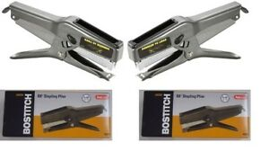 Bostitch Lot Of 2 Stanley Bostitch B8 Plier Staple Gun Stapler