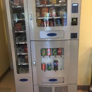 Vending Machine Seaga Combo Soda Snack Candy Pop Office Deli Food Truck
