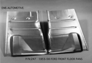 1955 56 Ford Front Floor Pan