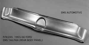 1955 56 Ford Tailpan