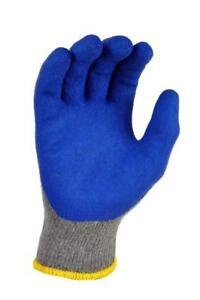 G F 3100l dz Knit Work Gloves Textured Rubber Latex Coated For Construction