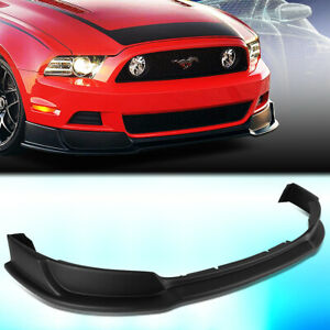For 2013 2014 Ford Mustang Gt Style Front Bumper Chin Lip Spoiler Wing Body Kit