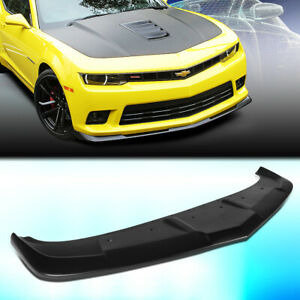 For 2014 2015 Chevy Camaro 1le Style Front Bumper Chin Lip Spoiler Wing Body Kit