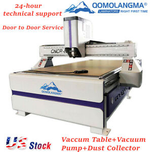 Ad Woodworking Cnc Router Machine Qomolangma 51 X 98 1325 With 3kw Spindle