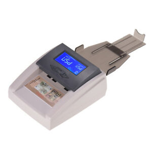 Counterfeit Money Counter Detector Fake Dollar Bill Currency Checker Tester J0c2