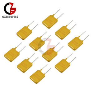 10pcs 0 65a 250v 650ma Polyswitch Resettable Fuse Poly Switch Fuses Polyfuse