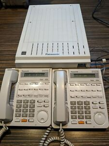 Panasonic Kx td816 Hybrid Pbx System Great Condition W 2 Handsets