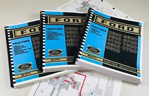 Ford 6600 6700 7600 7700 Tractor Service Repair Manual color Schematics