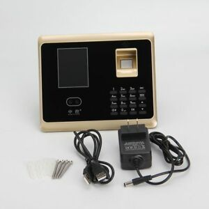 Zk fa20 Attendance Access Control System Face Recognition password card Tcp ip
