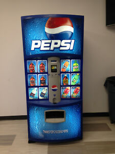 Pepsi Vending Machine Dixie Narco 600e 9 Hvv 12 16 20 Oz Made In Usa refurb
