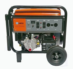 Tri Fuel Generator Propane Natural Gas Electricity Gasoline Engine Oil Battery