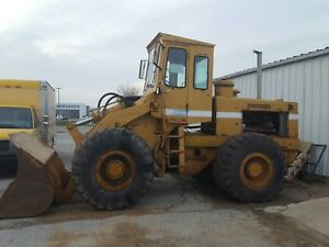 Dresser 65c Wheel Loader Runs Great Needs A Little Work Great For Snow