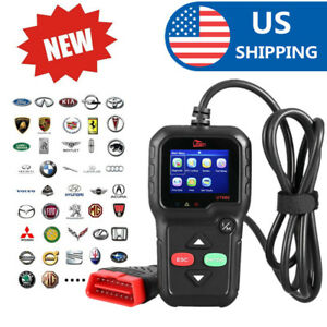 Kw680 Obdii Can Eobd Car Diagnostic Scanner Obd2 All Function Fault Code Reader
