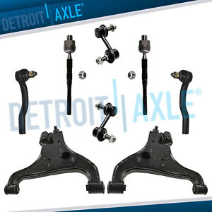 Front Lower Control Arms Tierods Sway Bars For Qx56 Armada Titan