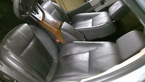 2010 2011 Saab 9 5 Front Heated Black Leather Seats With Dvd Headrest