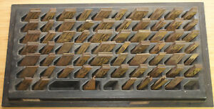 New Hermes 246 Piece Master Copy Engraving Brass Font Set Letters Numbers G