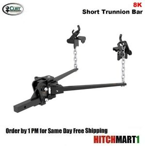 8k Short Trunnion Bar Weight Distribution Trailer Hitch W Shank 17331