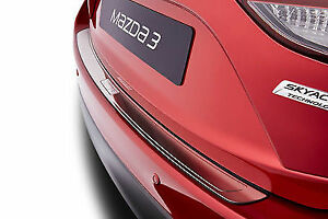 Genuine Mazda 3 2005 2013 Rear Bumper Stainless Protection Plate Bhs2v4080