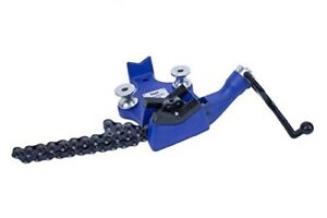 Heavy Duty Cast Iron Body 6 Inch Bench Chain Pipe Vise 6 Pipes Capacity