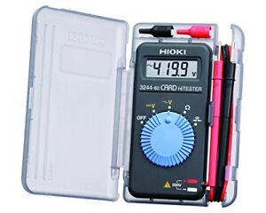 Hioki Pocket Digital Multimeter Card Tester 3244 60