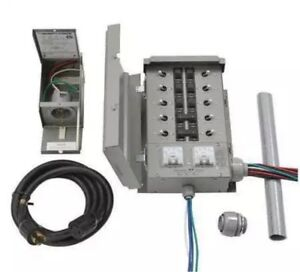 Home Generator Transfer Switch Kit 30a Emergen Switch Egs107501g2kit