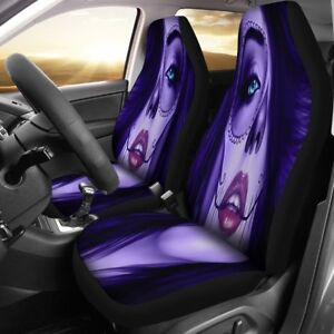 Car Seat Covers Calavera Girl Design Universal Fit For Most Cars And Suv