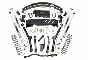 6 5 Long Arm Kit 1984 2001 Jeep Cherokee Xj With New Rear Springs